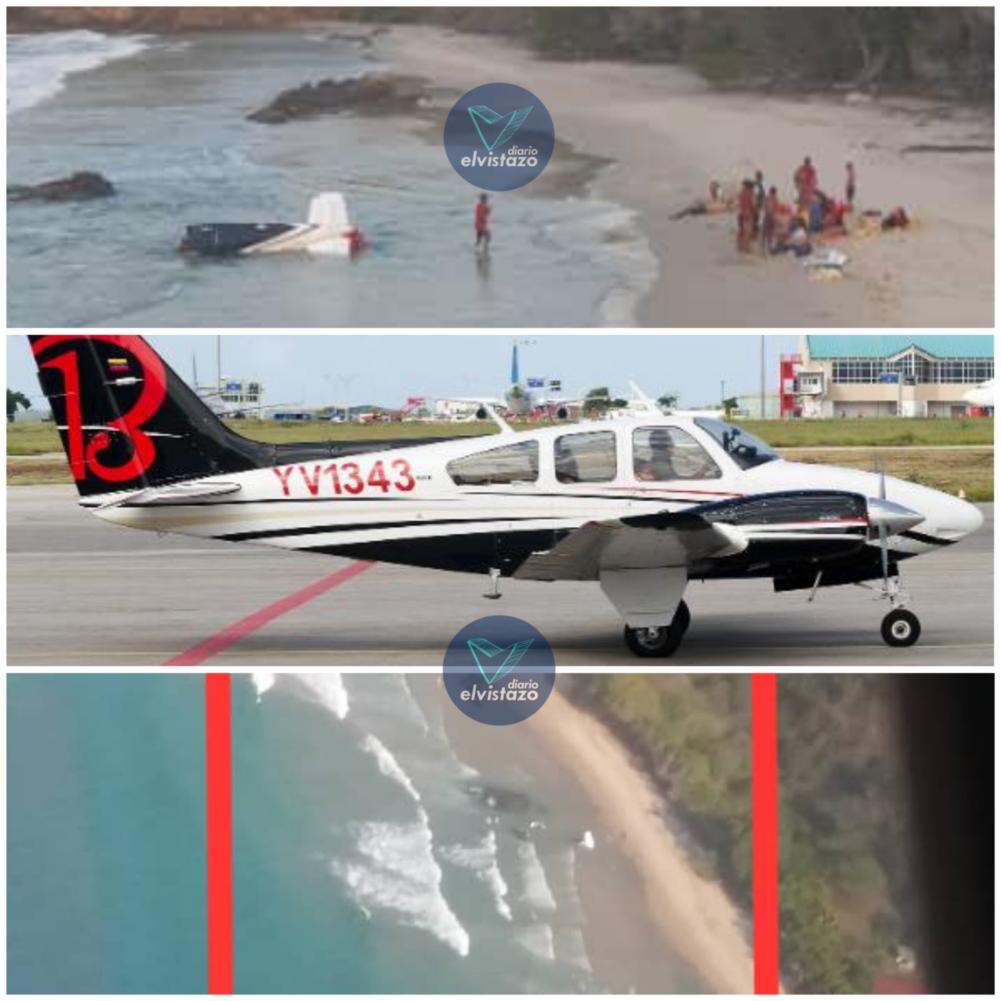 Tripulantes de avioneta que salió de Los Roques fueron hallados con vida en Higuerote