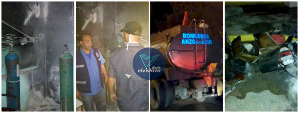 Controlado incendio en hospital oncológico de Anzoátegui