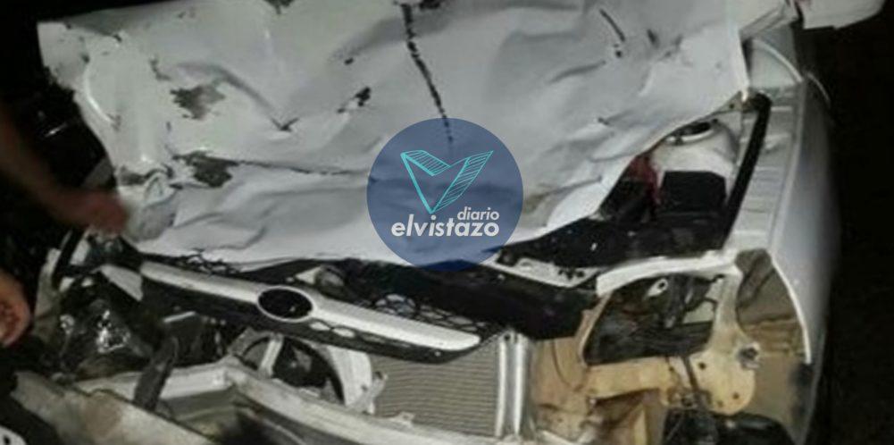 El Tigre: Un motorizado murió y dos pasajeros quedaron heridos en choque ocurrido la madrugada de este domingo