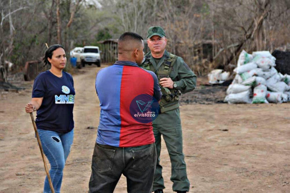 Minec Anzoátegui arrecia operativos contra fábricas ilegales de carbón vegetal