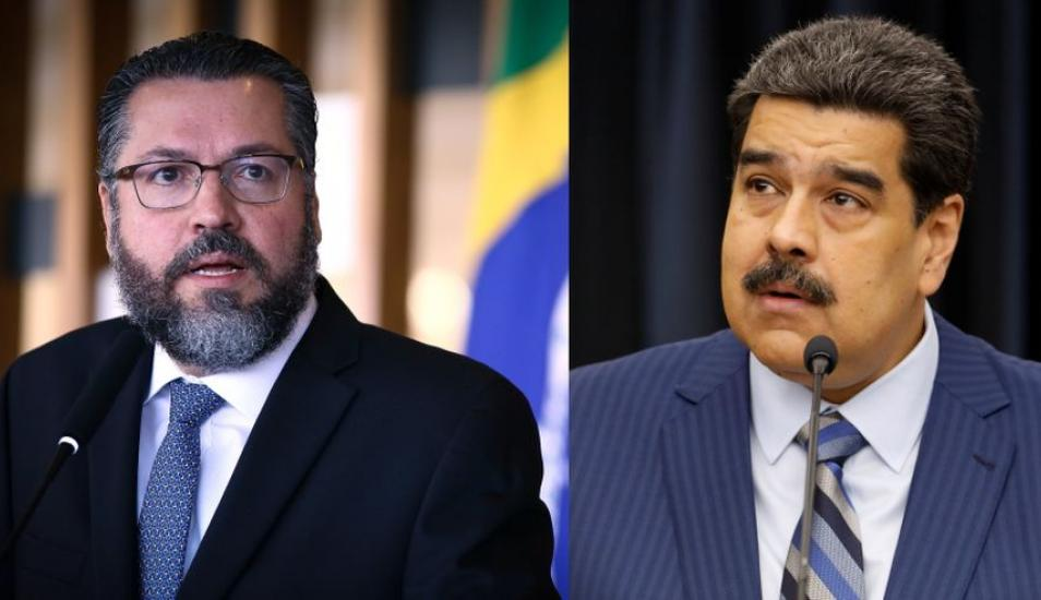 Brasil emite comunicado para prohibir entrada a funcionarios de Maduro