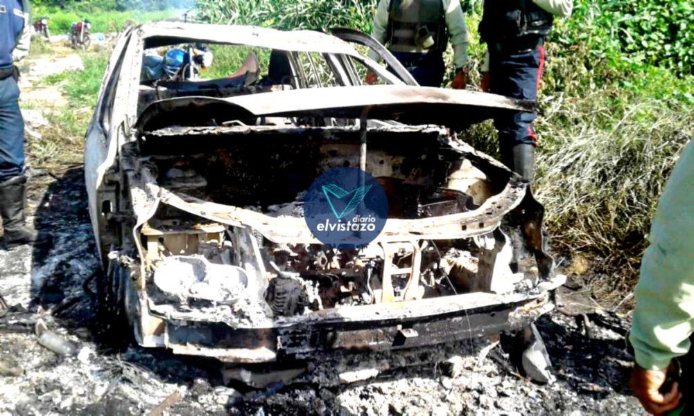 Anzoátegui: Halladas dos personas calcinadas dentro de un Renault en Los Potocos
