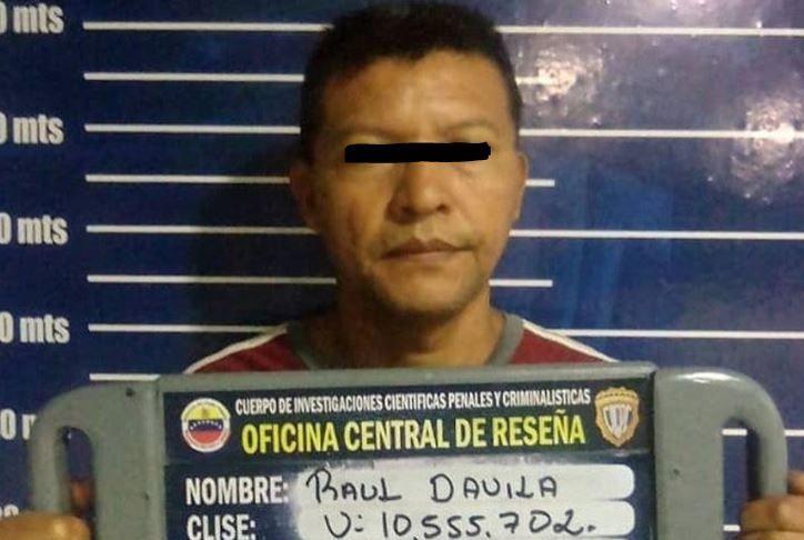 CICPC Barinas detiene un sujeto que abusaba de su hija desde hace seis años - Diario El Vistazo