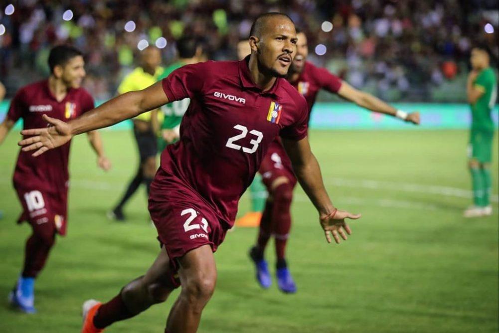 Rondón y Machís sellan el triunfo de la Vinotinto frente a Trinidad y Tobago
