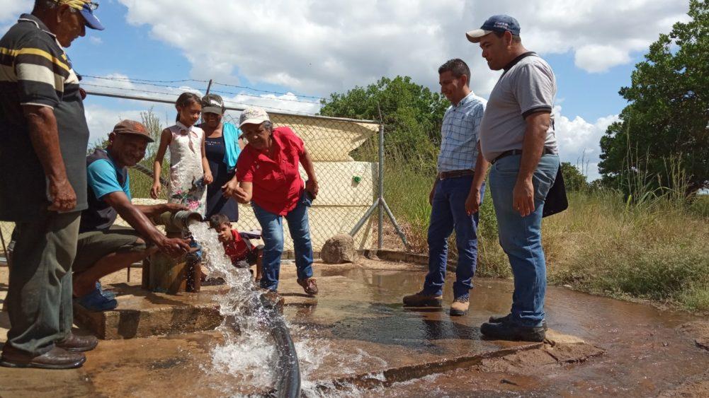 45 familias se abastecen del pozo La Huevera activado por Hidrocaribe