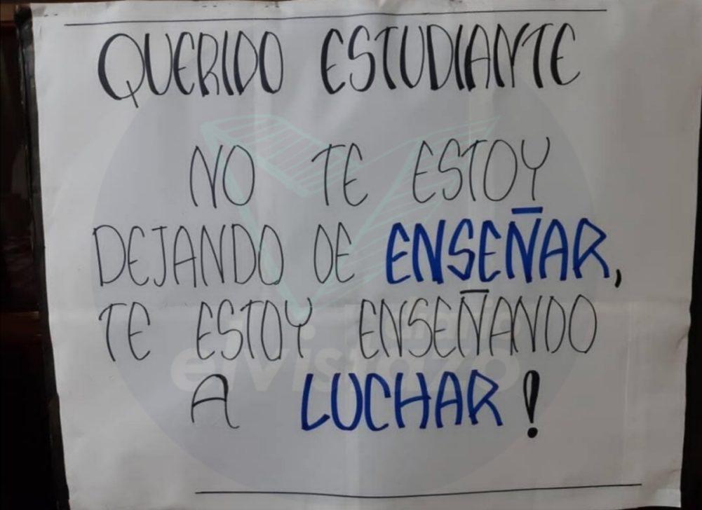 Primer día de paro docente en El Tigre se ubica en 70% - Diario El Vistazo