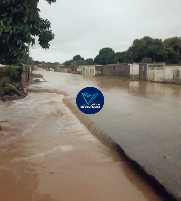 Protección Civil Guanipa evalúa daños por lluvias en cuatro sectores