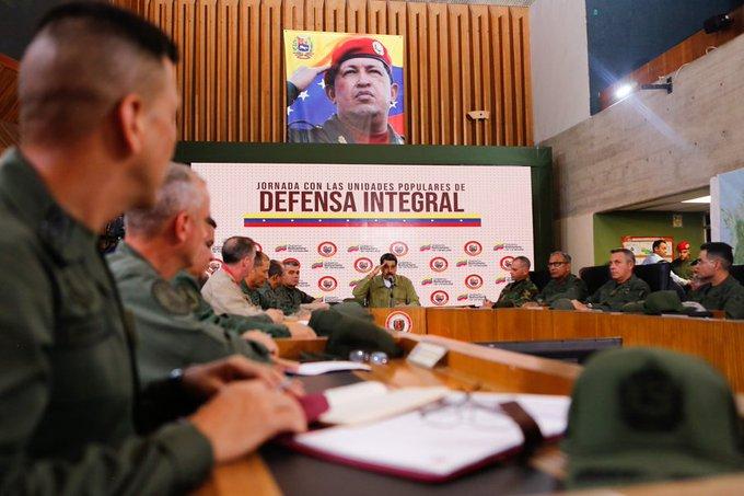 Maduro: El 14 de noviembre la milicia inicia plan de patrullaje armado en calles de Venezuela