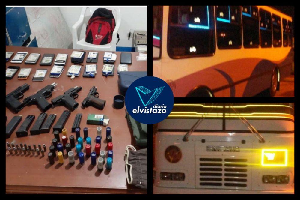 Capturados 23 presuntos mercenarios en la carretera El Tigre – Ciudad Bolívar