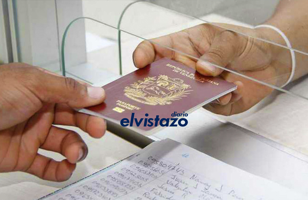 Saime: Servicio de Pasaportes estará en mantenimiento desde este 28 de septiembre hasta el 02 de octubre