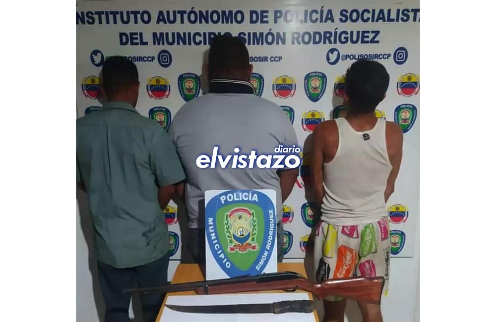 Polisosir detuvo en La Aventazón a tres hombres que participaron en una riña