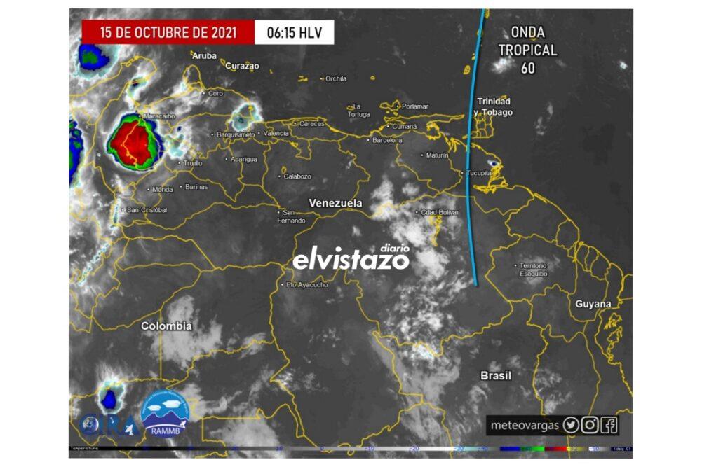 Lluvias y altas temperaturas para este viernes en Anzoátegui, Guárico y Apure