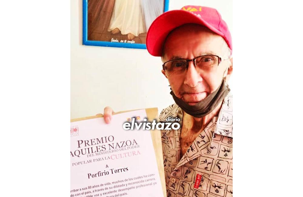 Falleció Porfirio Torres: La voz del exitoso micro Nuestro Insólito Universo